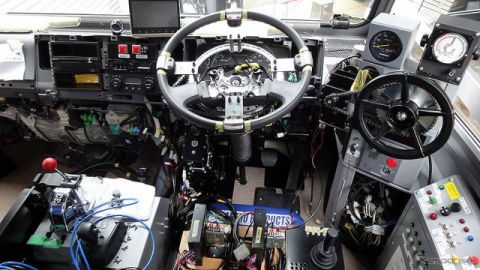 水陸両用バスに自動運転機器を実装、今秋から八ッ場ダムでテスト
