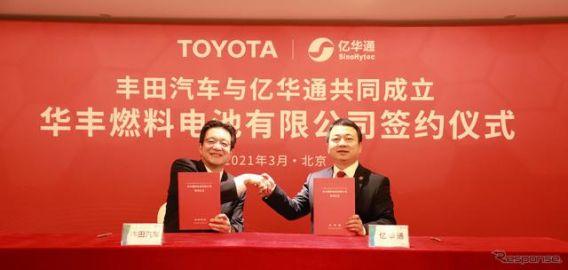トヨタ、燃料電池システムを中国で生産…MIRAI ベース 2023年から
