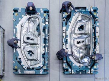 アウディ『Q4 e-tron』、最新の金型でエモーショナルデザインを可能に 4月14日発表
