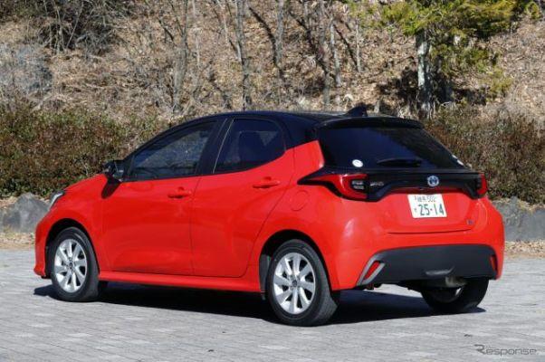 最も燃費の良い普通・小型車はトヨタ『ヤリス』 2020年末