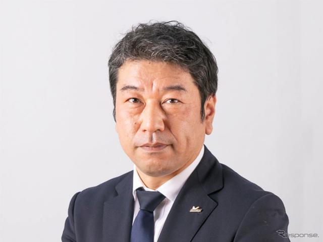 日本ミシュランタイヤの須藤元新社長《写真提供 日本ミシュランタイヤ》