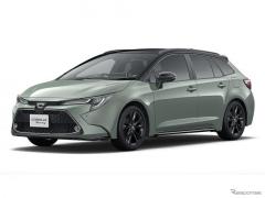トヨタ カローラツーリング、アウトドアテイストの限定車発売へ…2リットルエンジン搭載