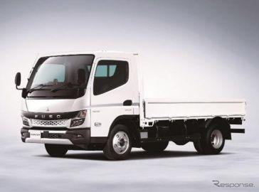 三菱ふそう、小型トラック「キャンター」を改良…2021年施行の各種法規に対応