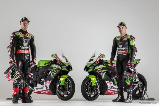 カワサキ、スーパーバイク世界選手権2021年マシンをローンチ《写真提供 川崎重工業》