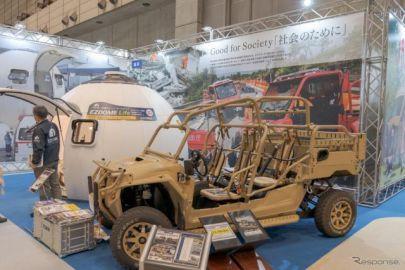 災害時には軍用車両が活躍する可能性も…ジャパンキャンピングカーショー2021