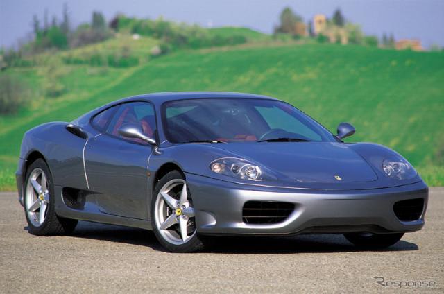 フェラーリ360モデナ《photo by Ferrari》