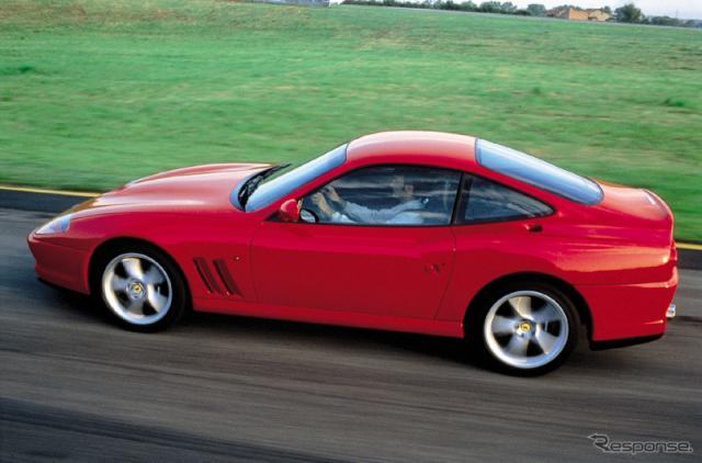 フェラーリ550マラネロ《photo by Ferrari》