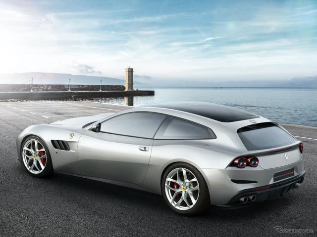 フェラーリGTC4ルッソT《photo by Ferrari》