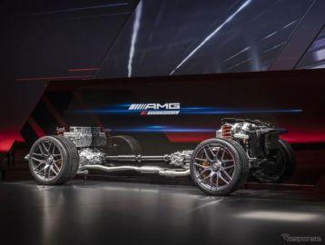 メルセデスAMG Cクラス 新型、2.0リットル直4搭載…電動ターボで現行「C63」超える性能