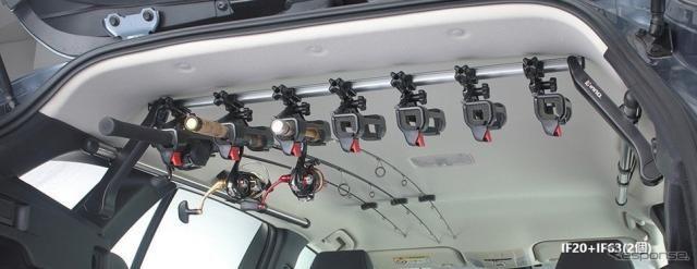 最大7本積載可能、SUV・ワゴン向けロッドホルダー発売…カーメイト