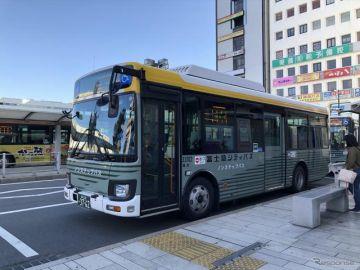 富士急シティバス、リアルタイム混雑情報提供システムなど導入へ