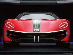 名車 MGB の再来狙うEVオープンスポーツ、MG『サイバースター』…上海モーターショー2021で提案へ