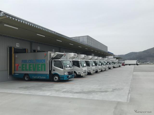 セブンイレブンの配送車(参考画像)《写真提供 セブン‐イレブン・ジャパン》