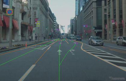 一般道路まで拡張した高精度3次元地図データ、2023年度導入へ ダイナミックマップ基盤