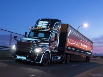 航続は北米最長、ダイムラーのEVトラック受注開始…2022年から生産
