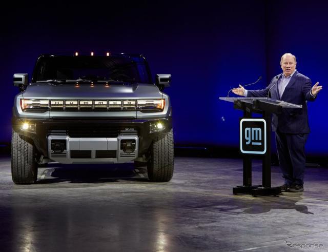 GMの「ファクトリーゼロ」で生産を行うと発表された GMC ハマー EV SUV