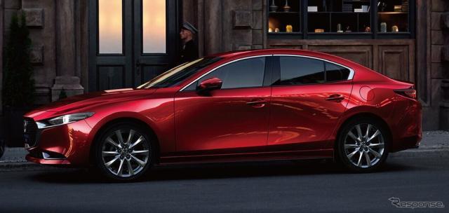 マツダ 3(中国仕様)《photo by Mazda》