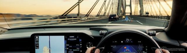 レクサス LS アドバンスト ドライブ 走行イメージ《写真提供 トヨタ自動車》