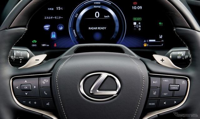 レクサス LS ドライバーモニターカメラ《写真提供 トヨタ自動車》