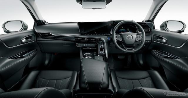 トヨタ MIRAI Advanced Drive(内装色:ブラック)<オプション装着車>《写真提供 トヨタ自動車》
