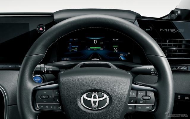 トヨタ チームメイト[アドバンスト ドライブ]ドライバーモニターカメラ(ステアリングコラムに設置)《写真提供 トヨタ自動車》