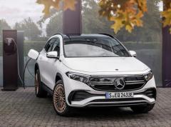 メルセデスベンツの小型電動SUV『EQA』、世界受注が2万台に…発表から2か月半