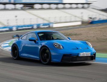 ポルシェ 911GT3 新型、300km/hで5000kmを連続走行…開発テスト 納車は欧州で5月から