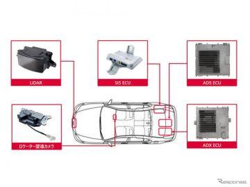デンソー、新型LS/MIRAI搭載の高度運転支援技術向け製品を開発