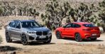 BMW X3M コンペティション(左)とBMW X4M コンペティション(右)《photo by BMW》
