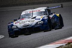 【SUPER GT 第1戦】KeePer TOM'S GR Supraの代役阪口晴南がポールポジションを獲得…Supra勢が予選トップ5を独占