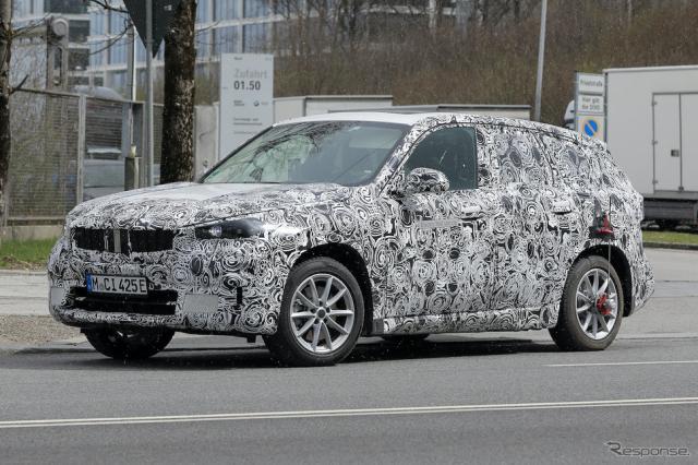 BMW iX1 プロトタイプ(スクープ写真)《APOLLO NEWS SERVICE》