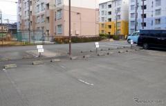 団地の月極駐車場をデジタルトランスフォーメーション アースカー