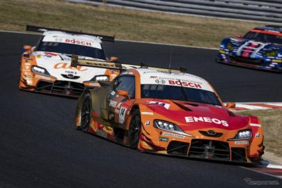 【SUPER GT 第1戦】ENEOS X PRIME GR Supraがチーム初優勝…GT300はリアライズ日産自動車大学校 GT-Rが優勝