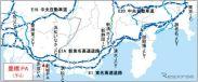 豊橋PA(下り)位置図《図版提供 中日本高速道路》
