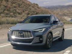 インフィニティ、SUVクーペ市場に復帰…『QX55』を北米発売