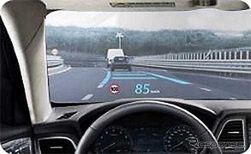 JVCケンウッド、HUDの二重像を軽減する新技術を開発 既販車への実装も可能