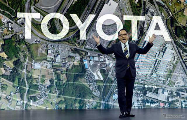 トヨタ自動車の豊田章男社長《Photo by David Becker/Getty Images News/ゲッティイメージズ》