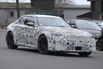いざニュルへ…BMW M2クーペ 次期型、最新プロトタイプを激写!