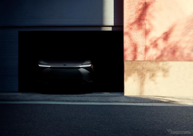トヨタの新型EVのティザーイメージ《photo by Toyota》