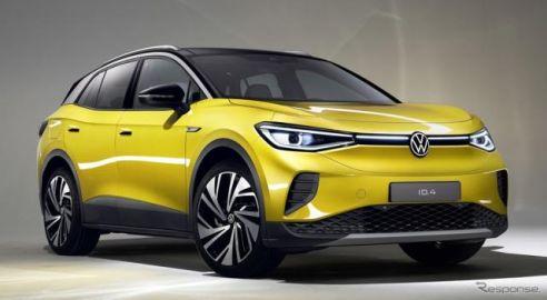VWの新型EV、キーワードは「G」…電動SUV『ID. 4』に高性能モデルか