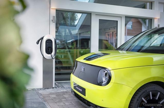 ホンダが英国で開始したEV向けエネルギーマネジメントサービス「e:プログレス」《写真提供 本田技研工業》