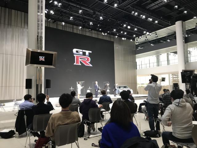 日産『GT-R NISMO』2022年モデル発表会(横浜市、日産グローバル本社)《写真撮影 高木啓》