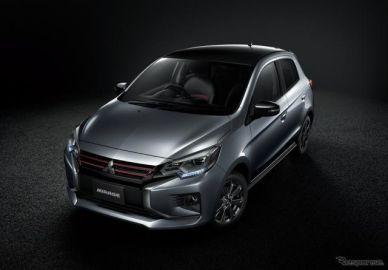 三菱 ミラージュ ブラックエディション 発売、スポーティな特別仕様車