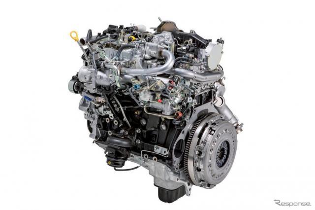 1GD-FTV型ディーゼルエンジン《写真提供 豊田自動織機》