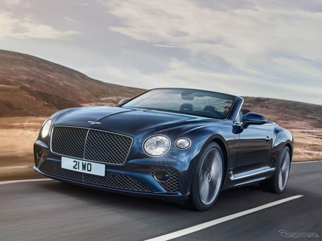 ベントレー・コンチネンタル GT スピード・コンバーチブル 新型《photo by Bentley》