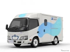 日野、超低床・ウォークスルーの小型EVトラックを開発 2022年初夏市場導入