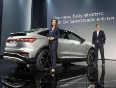アウディの新型EV『Q4 e-tron』、クーペの「スポーツバック」を欧州発表