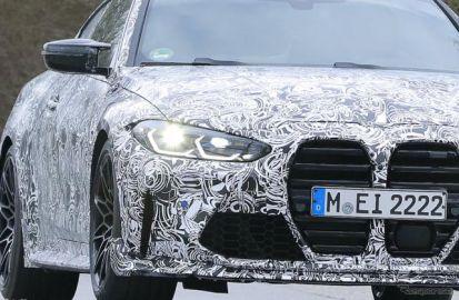 「CSL」がついに帰って来る!BMWの超高性能クーペ『M4 CSL』、市販型を初スクープ
