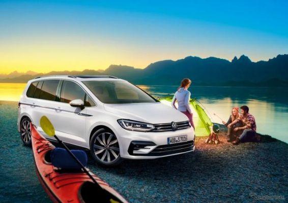 VW ゴルフ トゥーラン、1.5L直噴ターボ搭載…インフォテイメントや安全性も強化