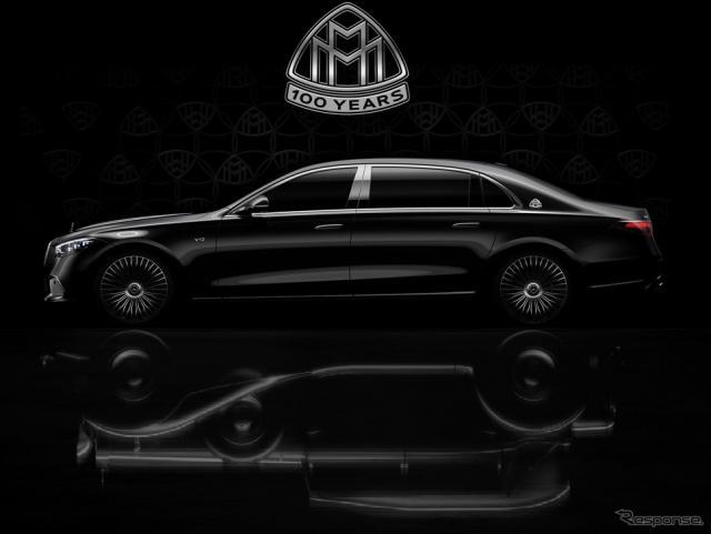 メルセデスマイバッハ Sクラス 新型のV型12気筒エンジン搭載車《photo by Mercedes-Benz》
